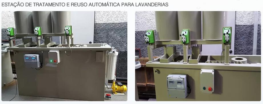 JRFiltros - ESTAÇÃO DE TRATAMENTO E REUSO AUTOMÁTICA PARA LAVANDERIAS