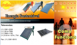 Ultrasolar - Aquecedor Solar